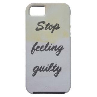 Capas Para iPhone 5 Pare de sentir culpado