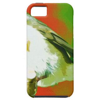 Capas Para iPhone 5 Pássaro do pisco de peito vermelho