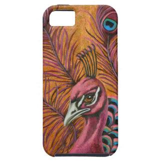 Capas Para iPhone 5 Pavão cor-de-rosa