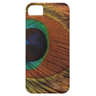 Capas Para iPhone 5 peacocks-plume-1red e ouro