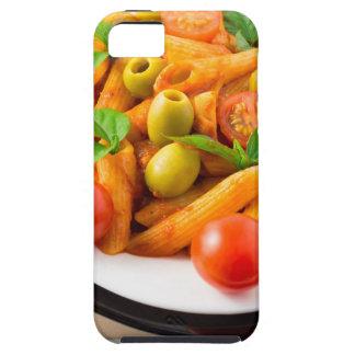 Capas Para iPhone 5 Penne italiano da massa no molho de tomate com