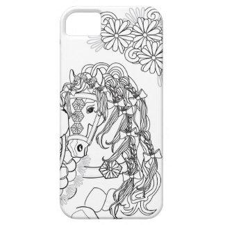 Capas Para iPhone 5 Perito em software Prancing do iPhone do cavalo da