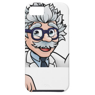 Capas Para iPhone 5 Personagem de desenho animado do cientista que