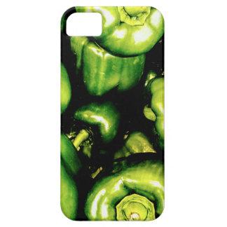 Capas Para iPhone 5 Pimentas de Bell verdes