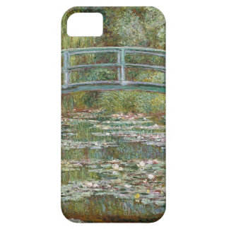 Capas Para iPhone 5 Ponte sobre uma lagoa de lírios de água