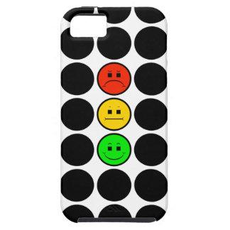 Capas Para iPhone 5 Pontos pretos de w do sinal de trânsito