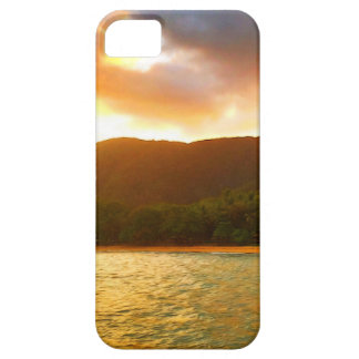 Capas Para iPhone 5 Por do sol do molhe da angra da palma