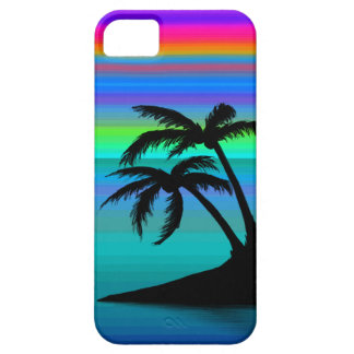 Capas Para iPhone 5 Por do sol tropical da ilha