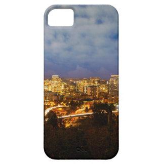 Capas Para iPhone 5 Portland OU arquitectura da cidade na hora azul
