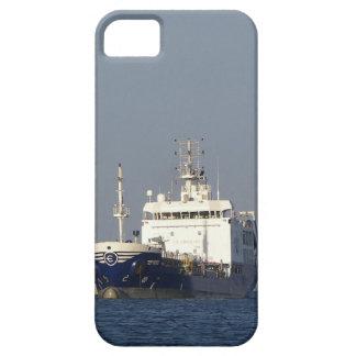 Capas Para iPhone 5 Porto entrando de Zephyros do navio de carga
