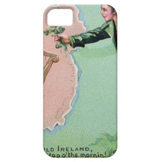 Capas Para iPhone 5 Poster da ilha dos erin do dia de Patrick de santo
