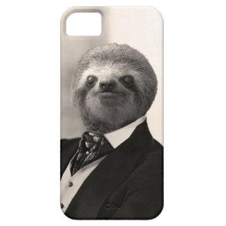 Capas Para iPhone 5 Preguiça #4 do cavalheiro