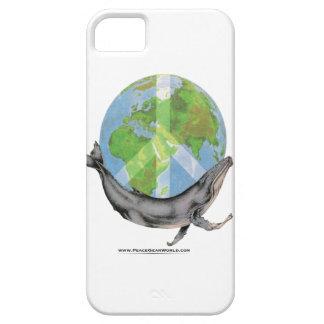 Capas Para iPhone 5 Projeto da paz da baleia de Humpback
