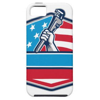 Capas Para iPhone 5 Protetor da bandeira dos EUA da chave de tubulação