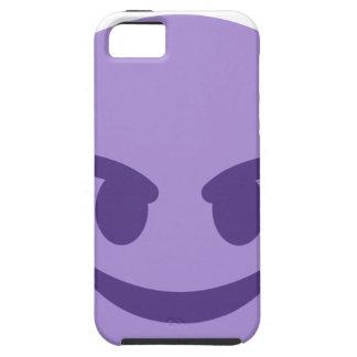 Capas Para iPhone 5 Purple Devil Emoji