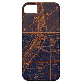 CAPAS PARA iPhone 5 RAPOSA RIVER VALLEY DO MAPA DA BATÁVIA ILLINOIS