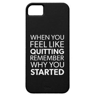 Capas Para iPhone 5 Recorde porque você começou - o exercício