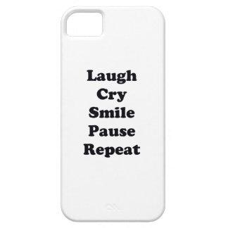 Capas Para iPhone 5 Repetição do riso