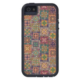 Capas Para iPhone 5 Retalhos do vintage com elementos florais da