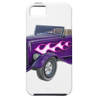 Capas Para iPhone 5 Roadster de 1932 roxos com chama