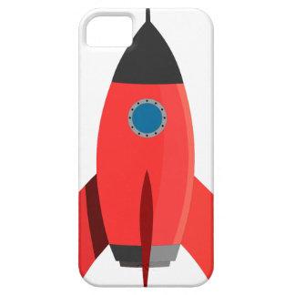 Capas Para iPhone 5 Rocket vermelho