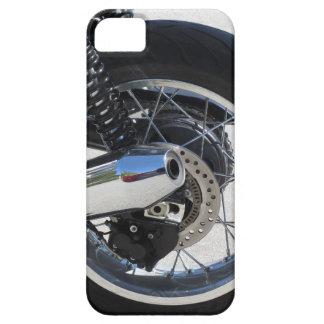 Capas Para iPhone 5 Roda traseira e tubulação de exaustão cromada da