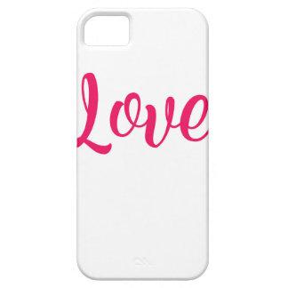Capas Para iPhone 5 Rosa do amor