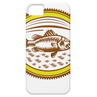 Capas Para iPhone 5 Sal-água-barramundi-lado-OVAL