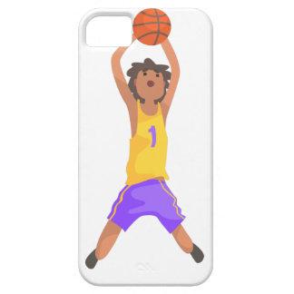 Capas Para iPhone 5 Salto do jogador de basquetebol e ação de jogo