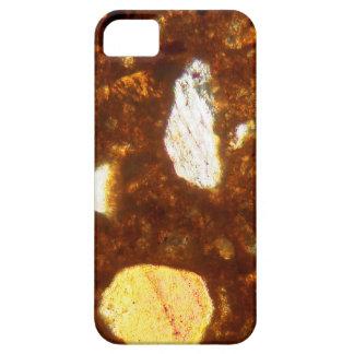 Capas Para iPhone 5 Seção fina de um tijolo sob o microscópio