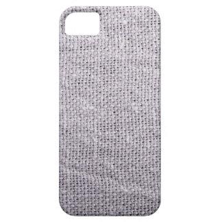 Capas Para iPhone 5 Serapilheira cinzenta do fundo do tecido