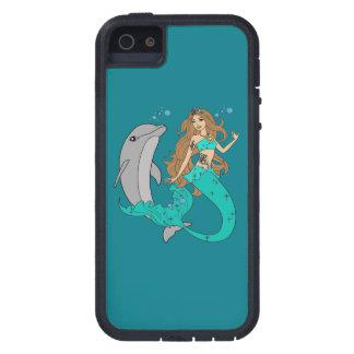 Capas Para iPhone 5 Sereia com golfinho