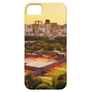 Capas Para iPhone 5 Skyline de Seoul Coreia do Sul