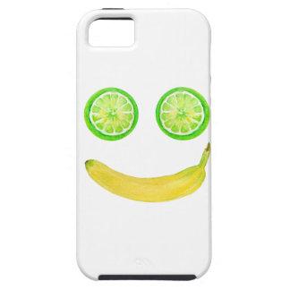Capas Para iPhone 5 Smiley face da fruta da aguarela