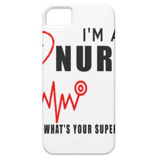 Capas Para iPhone 5 Sua enfermeira da superpotência