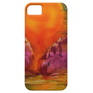 Capas Para iPhone 5 Sun que brilha no lago