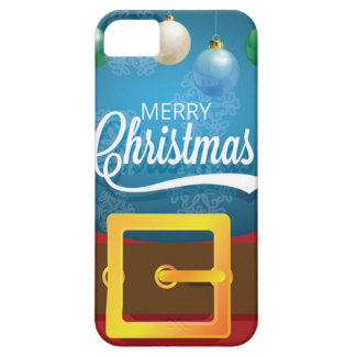 Capas Para iPhone 5 Terno do papai noel do Feliz Natal