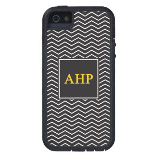 Capas Para iPhone 5 Teste padrão alfa do ró   Chevron de Eta