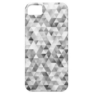 Capas Para iPhone 5 Teste padrão cinzento do triângulo