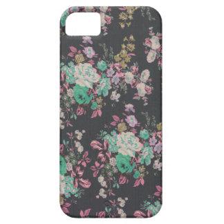 Capas Para iPhone 5 teste padrão floral do tema das flores elegantes