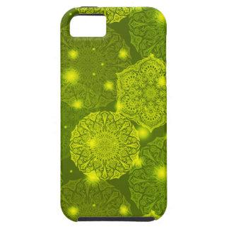 Capas Para iPhone 5 Teste padrão luxuoso floral da mandala
