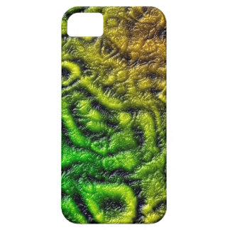 Capas Para iPhone 5 Textura verde da pele