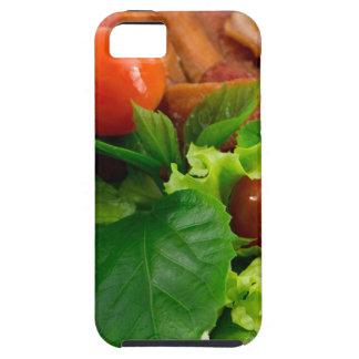 Capas Para iPhone 5 Tomates de cereja, ervas, azeite, ovos e bacon