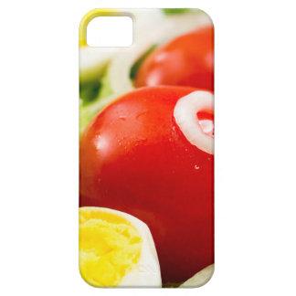 Capas Para iPhone 5 Tomates e ovos cozidos de cereja em uma salada
