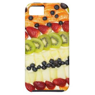 Capas Para iPhone 5 Torta dada forma ovo da fruta com várias frutas