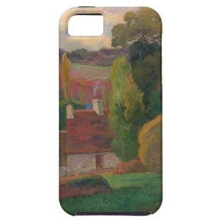 Capas Para iPhone 5 Uma fazenda em Brittany - Paul Gauguin