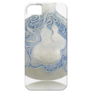 Capas Para iPhone 5 Vaso azul do art deco do fosco com fruto