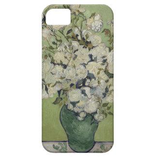 Capas Para iPhone 5 Vaso de Vincent van Gogh dos rosas que pintam a