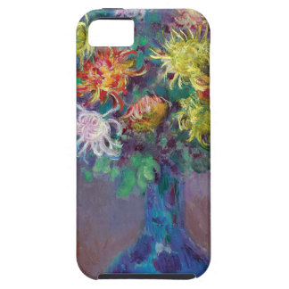 Capas Para iPhone 5 Vaso dos crisântemos Claude Monet