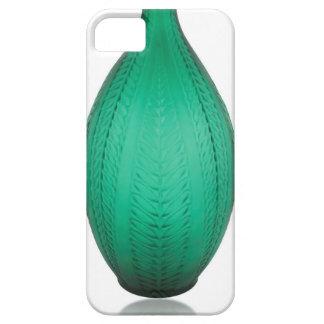 Capas Para iPhone 5 Vaso verde alto do vidro do art deco